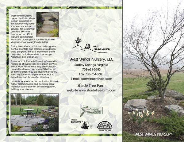 West Wind Nursery Brochure