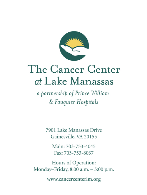 The Cancer Center of Lake Manassas Folder